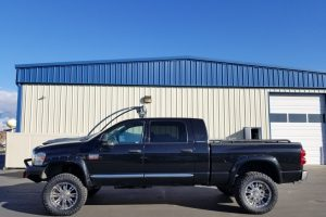 Window Tint on Dodge Truck in Meridian, Idaho