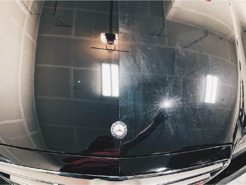 Car with ceramic coating